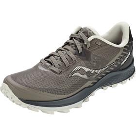 saucony Peregrine 11 Shoes Men, grijs/zwart